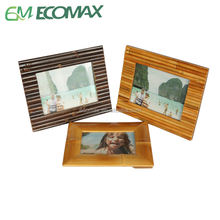 17years factory,Bamboo photo frame ,custom made bamboo products, for indoor or outdoor