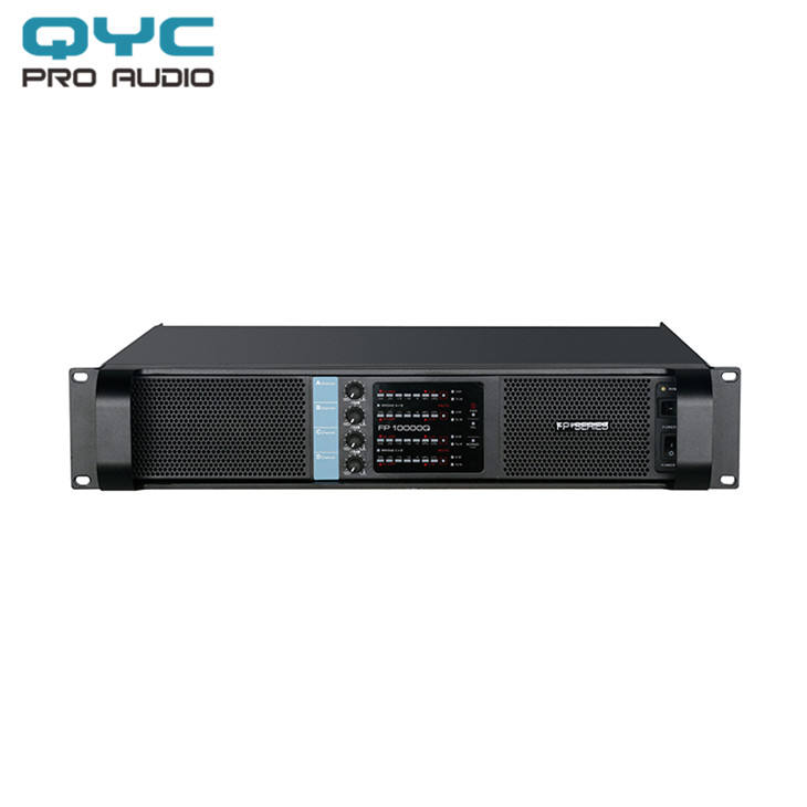 QYC fp10000 4 channel custom high end new pro professional power audio amplifier