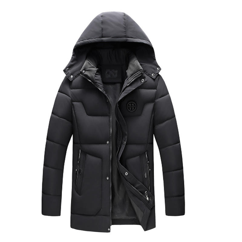 Wholesale winter men's cotton padded down coat