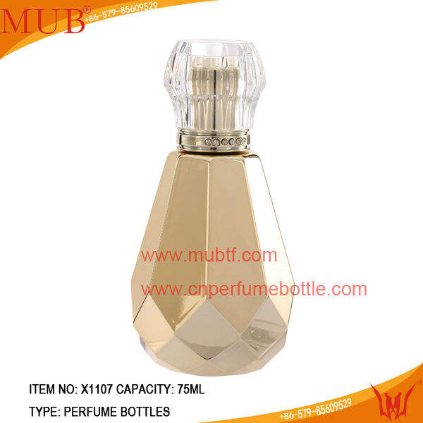 75 млвысокая качество стекла парфюмерии бутылки с новой технологии печати