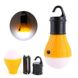 Hanging LED ABS Bulb Light Fishing Lantern Lamp 3 Mode Camping Tent Light for home Outdoor Accessories