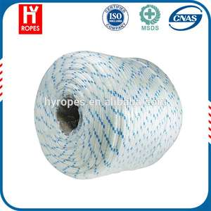 HYropes anchor line rope pp rope  bv certificate marine rope  braided 16mm yacht rope