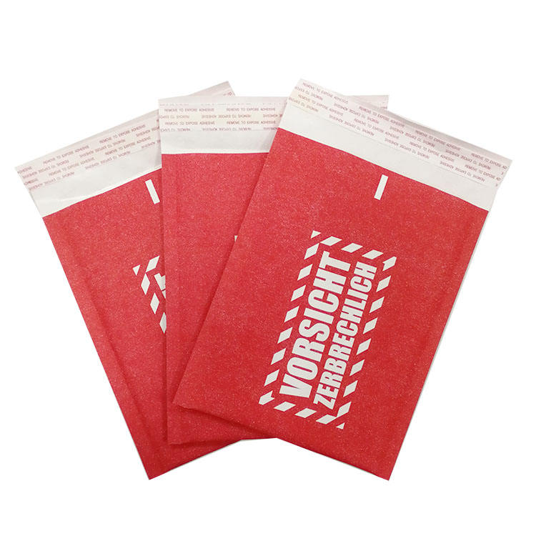 Air mailing cushioned bubble bags padded envelopes kraft bubble mailers