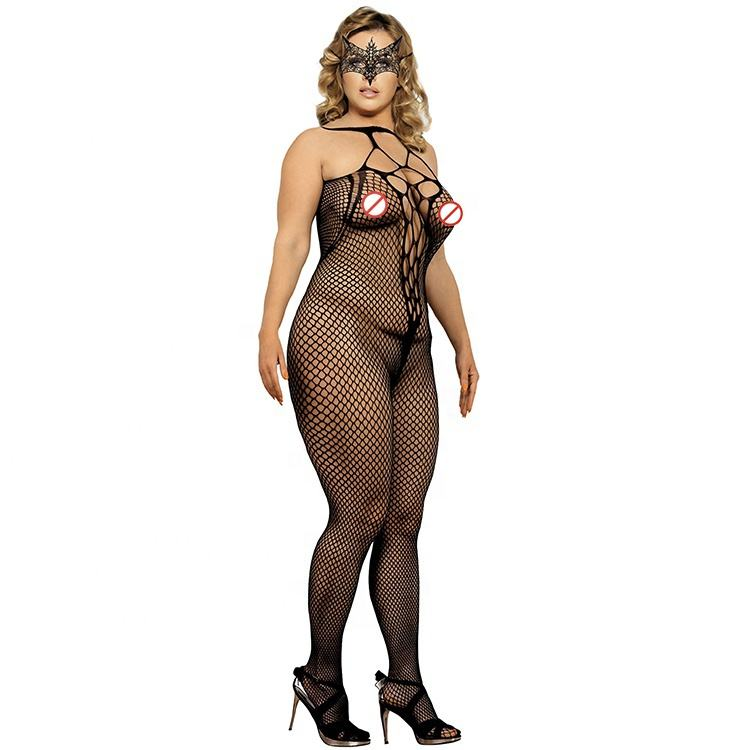 New Arrival Mature Woman Girls Bodystocking Sexy lingerie Black sexy costumes erotic lingerie