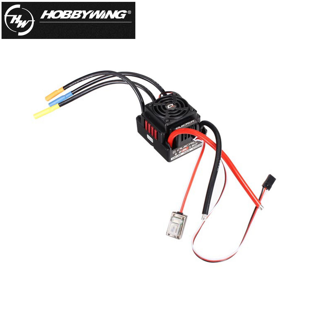 QB017 Hobbywing Quicrun 8BL150 Brushless Waterproof Sensorless 150A ESC Rock Crawler ESC For 1/8 Rc Car