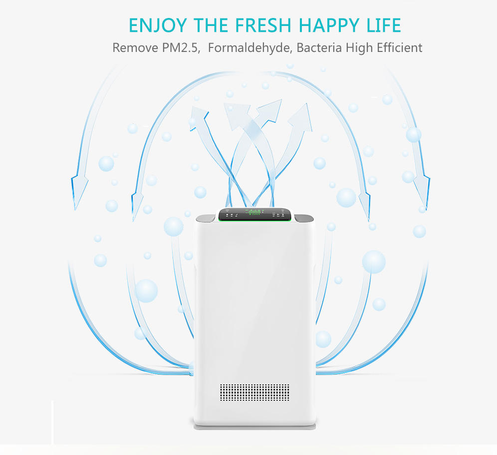 2019 Olansi hot sale trending product ozone generator air purifier air cleaner for home