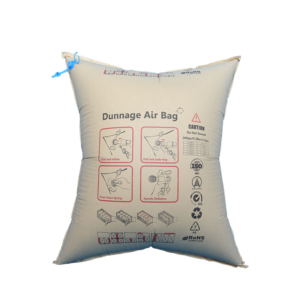 Atacado Kraft PP dunnage air bag para o transporte de contentores