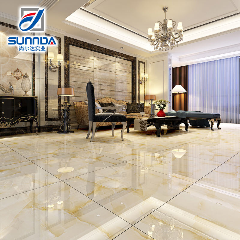 Sunnda Cheap Polished Porcelain Marble Tile ,Zibo Tiles and Marbles
