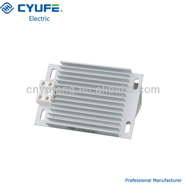 Aluminium Alloy Electric Fan Heaters Heater Switchgear