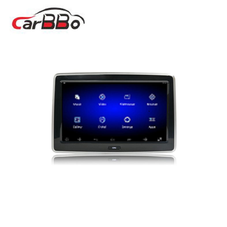Android systeem 10.1 inch touch screen auto hoofdsteun monitor auto android tablet