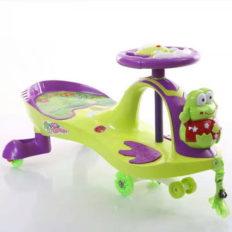 Baby twist car Baby Sit Car funny toys Kids Wiggle Scooter in China PP plastic cheapest Kids Swing car