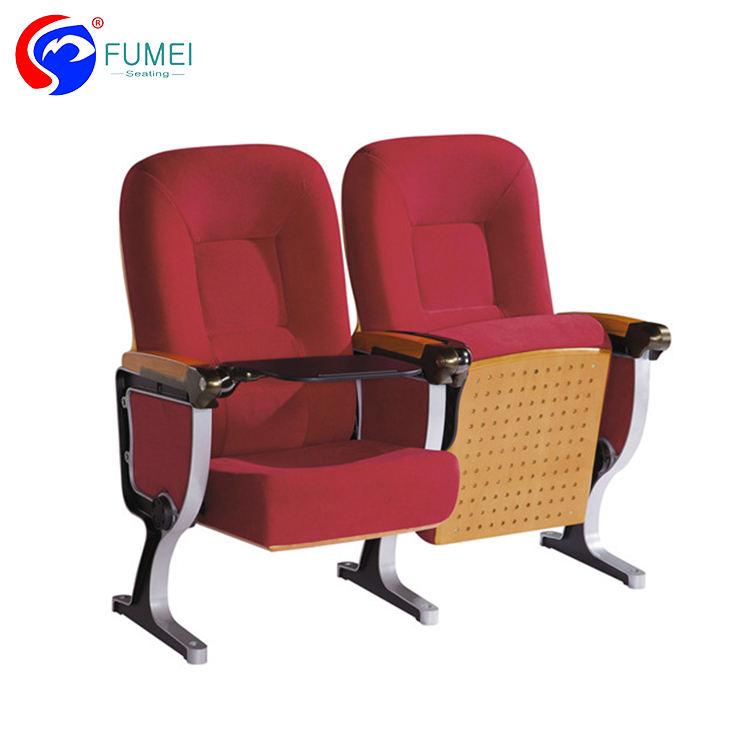 Завод прямые продажи алюминиевая рама складной стул auditorium