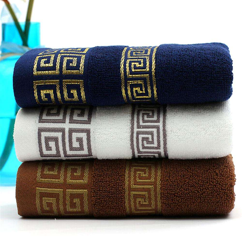 High quality 100% cotton luxury facial face hand towels with logo cotton