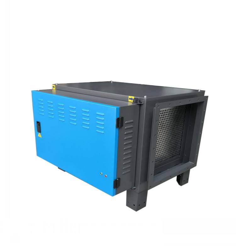 low power consumption 8000m3/h restaurant kitchen air filter