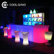 Table Bar Illuminated LED Light Table Glowing Up Bar Furniture Night Club Bar Counter