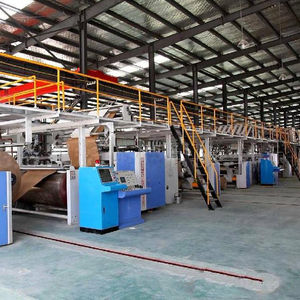3 ply carton box making machine automatic for corrugated cardboard production