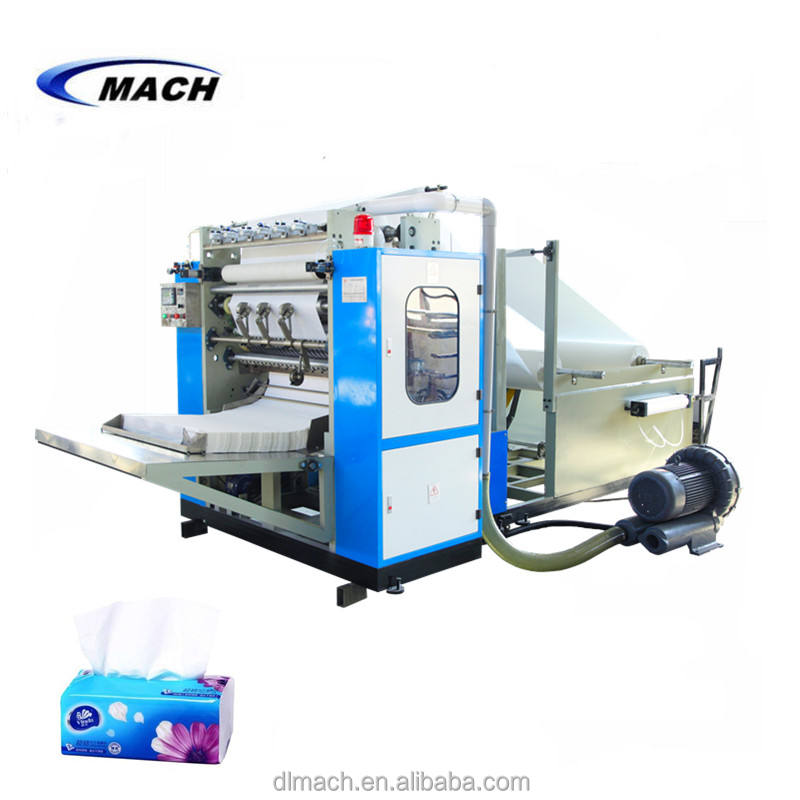 CE Automatic V Fold Type Inter fold Facial Tissue Paper Making Machine Preis