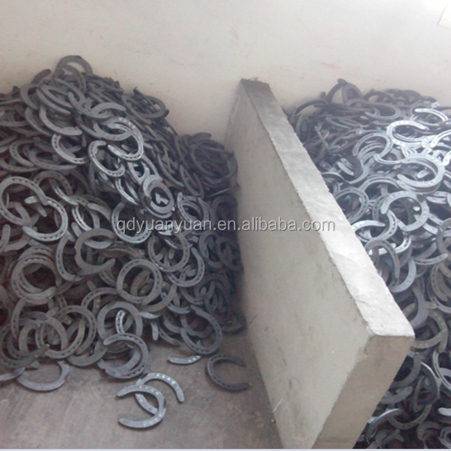 Chinese factory direct supply wholesale cheap bulk steel horseshoes in bulk