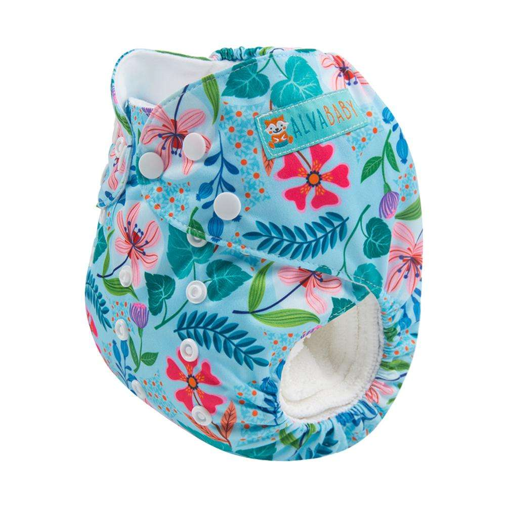 Alvababy Design Digital Position Cloth Diapers