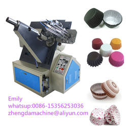 Small bakery paper cake tray box making machine/paper cup folding forming machine
