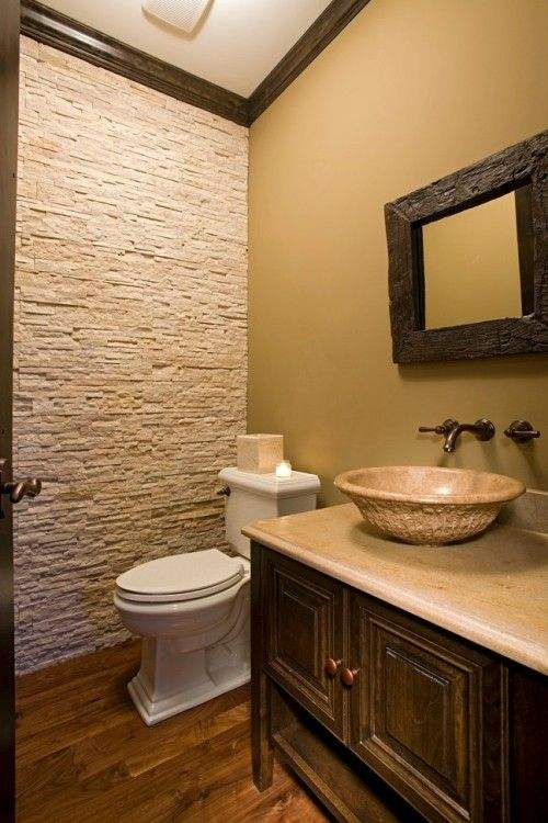Natural Stacked Stone Wall In Bathroom, Cheap Slate Stone For Interior Wall Tiles+