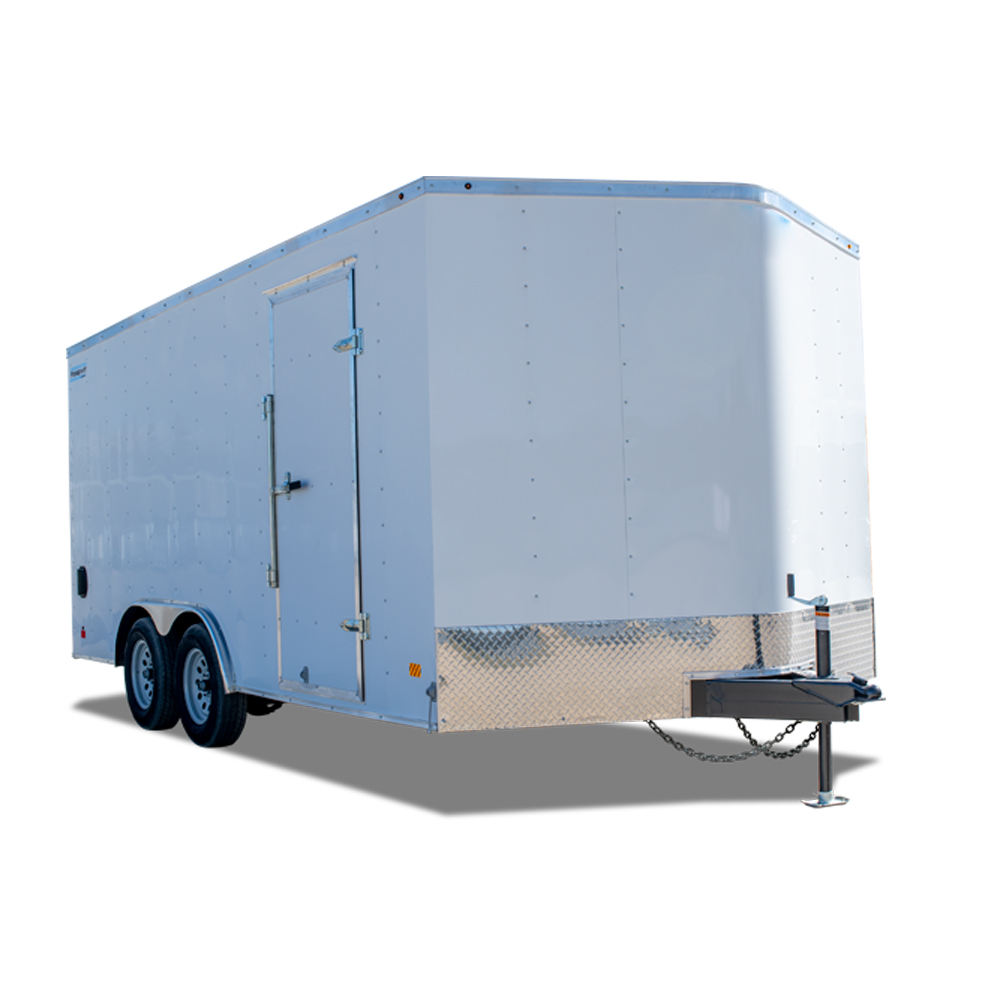 Lightweight Enclosed Aluminum Cargo Trailer for Sale