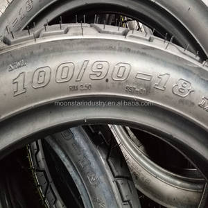 spare parts for chinese motorcycles 100/90-18motorcycle tyre with Dot E4