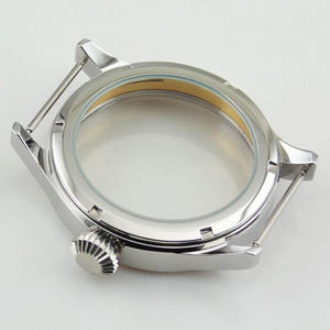 China Watch Manufacturer Customized 316L Stainless Steel PVD Watch Case Parts