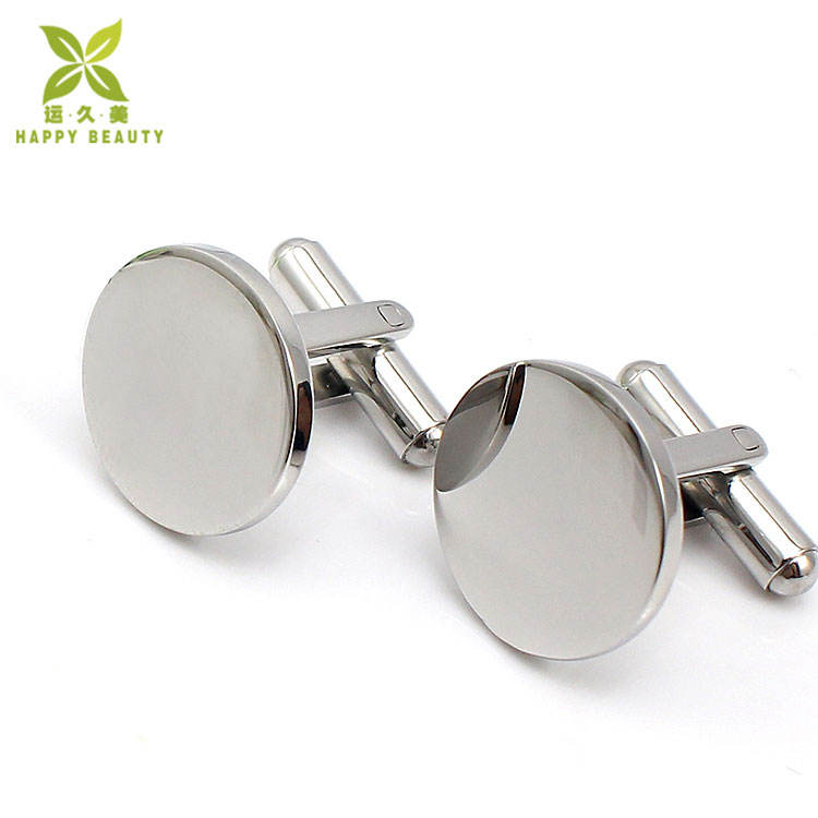 New arrival tuỳ sỉ khắc logo cufflinks trống
