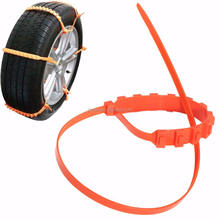 Plastic winter snow tire chain/nylon snow tires chain