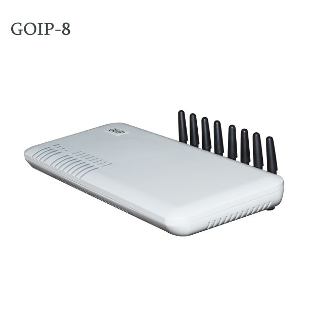 Grandstream Best Price GOIP 8 Port GSM Gateway VOIP Sim Box With IMEI Change