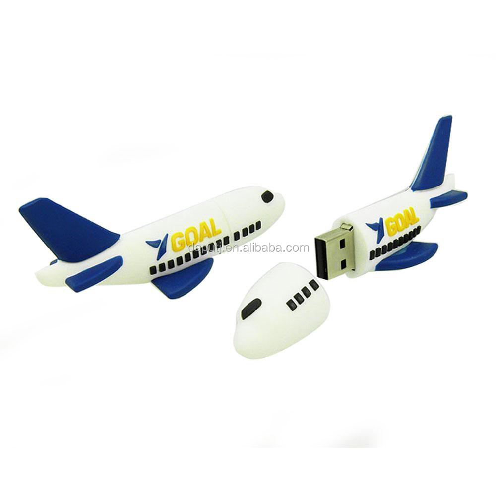 2.0 usb flash drive airplane shape usb pen drive 64gb usb pen drive aircraft shape