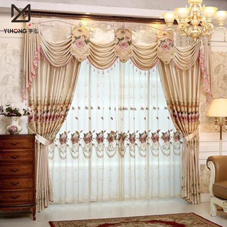 Luxury and beauty church curtains at best price