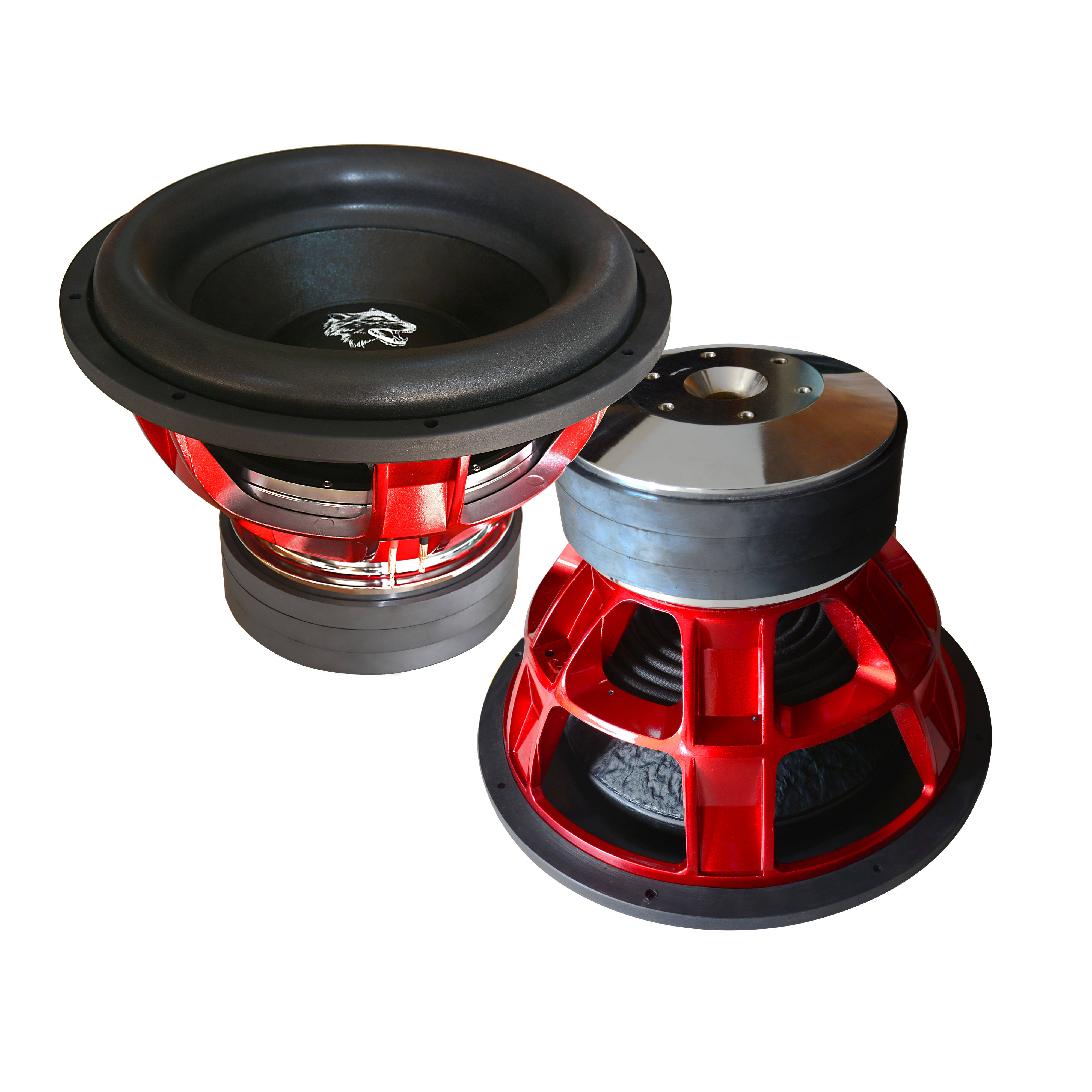 Soway brand hot sale AL frame 2500W SW12-32 12inch subwoofer for dema car audio