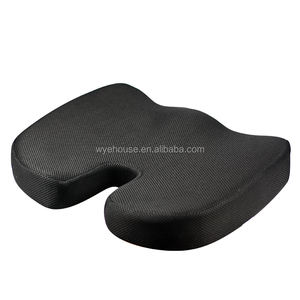 Premium Seat Cushion Non Slip Orthopedic 100% Memory Foam Coccyx Cushion for Tailbone Pain Cushion for Office Chair
