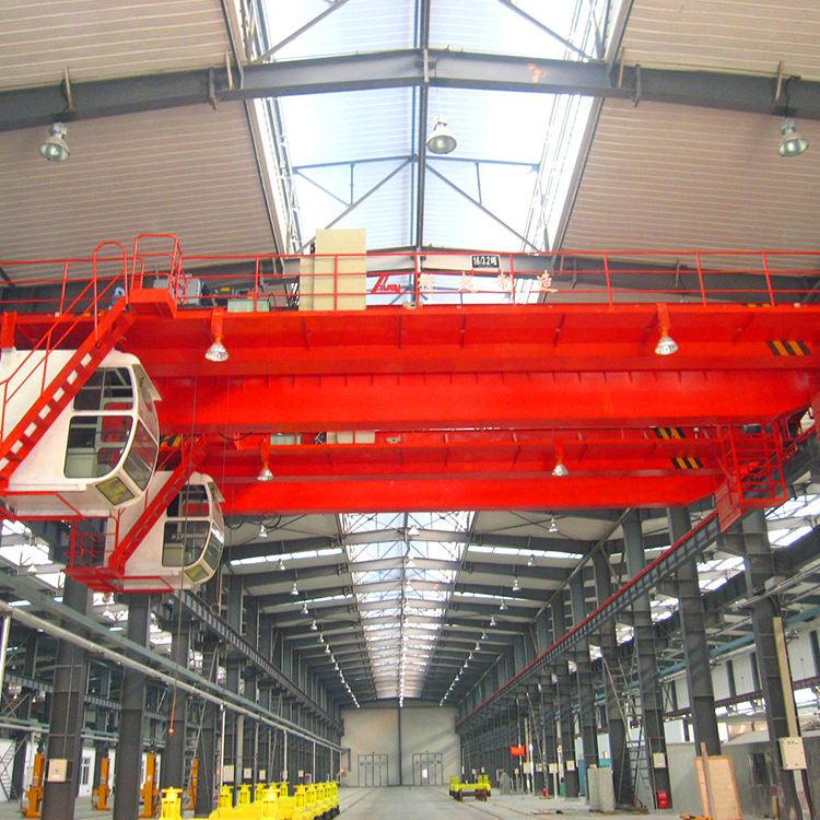 Double girder electric overhead travelling overhead bridge crane 20 ton
