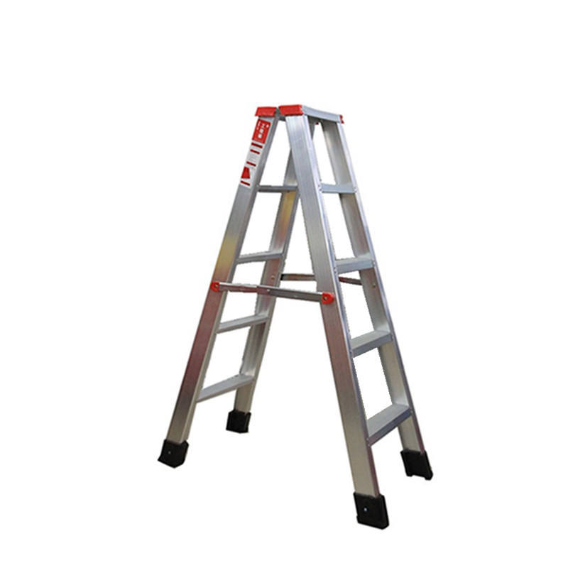 Aluminum Durable Light Weight Anti Slip Foldable Step Ladder