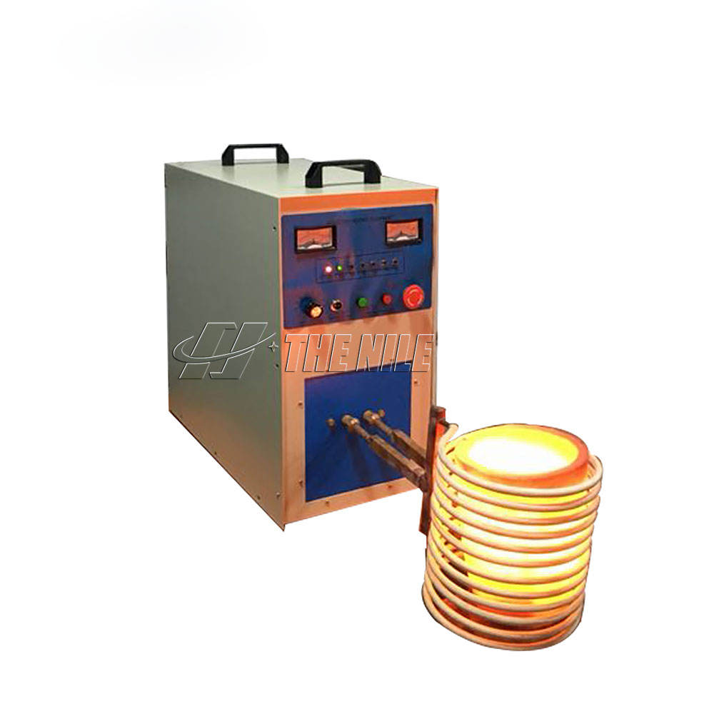 Electric small induction smelting furnace for gold melting with competitive price