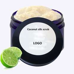 Natural organic Coconut body scrub deep cleaning exfoliator scrub for men and women