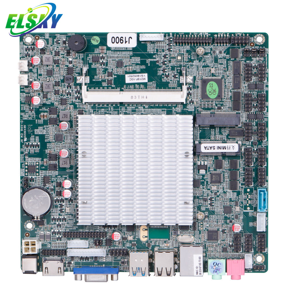 mini pc board Intel Celeron J1800 Dual Cores 1COM USB3.0 LAN Fanless Mini Motherboard /industrial motherboard