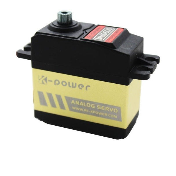 K-Power MM0600 Standar Logam Analog Mobil RC Servo Hot Sale Servo Motor