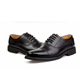comfort and safety genuine leather police officer man shoes