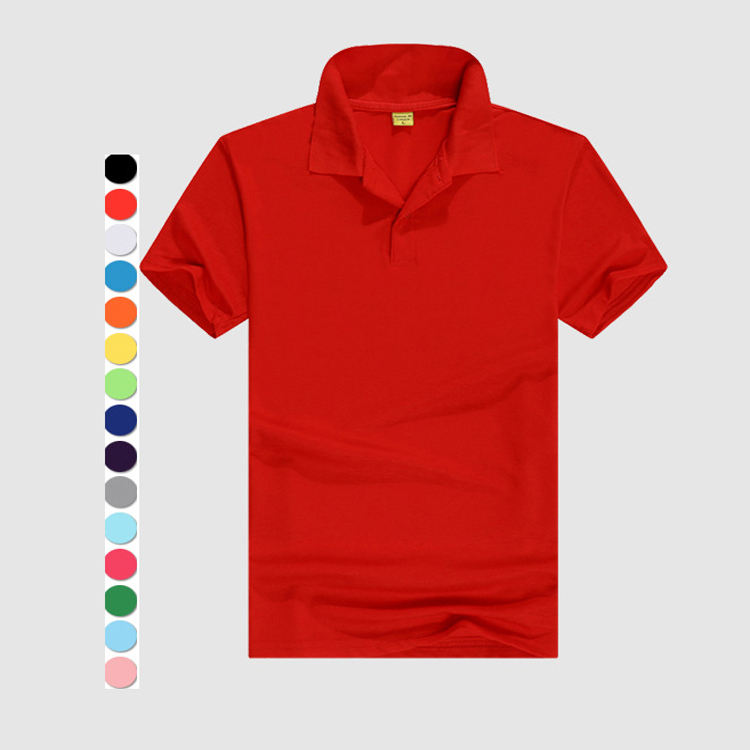 Hot selling 200gsm 85% polyester 15% cotton customized logo blank plain unisex men polo shirt