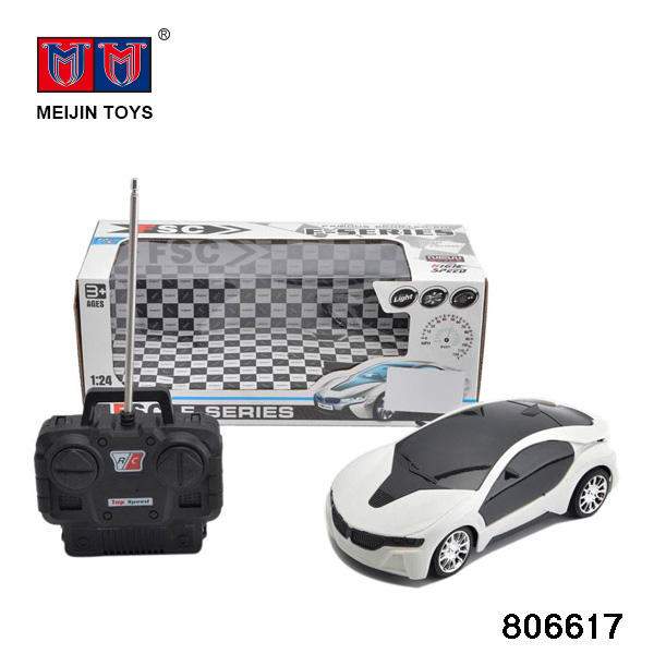 Fashional rc remote control car 4CH toy car toys for kids