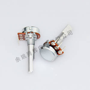 WH148 single rotary volumeregeling koolstof film potentiometer 16mm b50k b100k 3pin