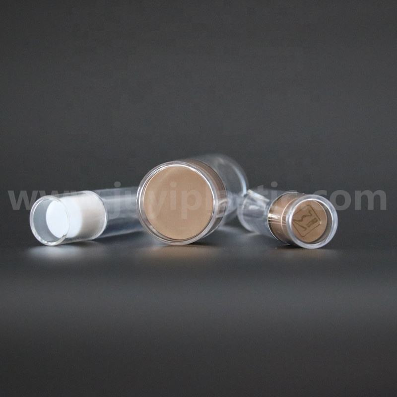 Hot sale empty acrylic jam jars PET plastic tablet medicine pill vitamin capsule bottle