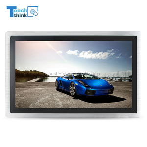 10 1 open frame fanless ip65 resistivo industriale tft lcd modbus hmi touch screen monitor 10 pollici 700 nits luce del sole leggibile