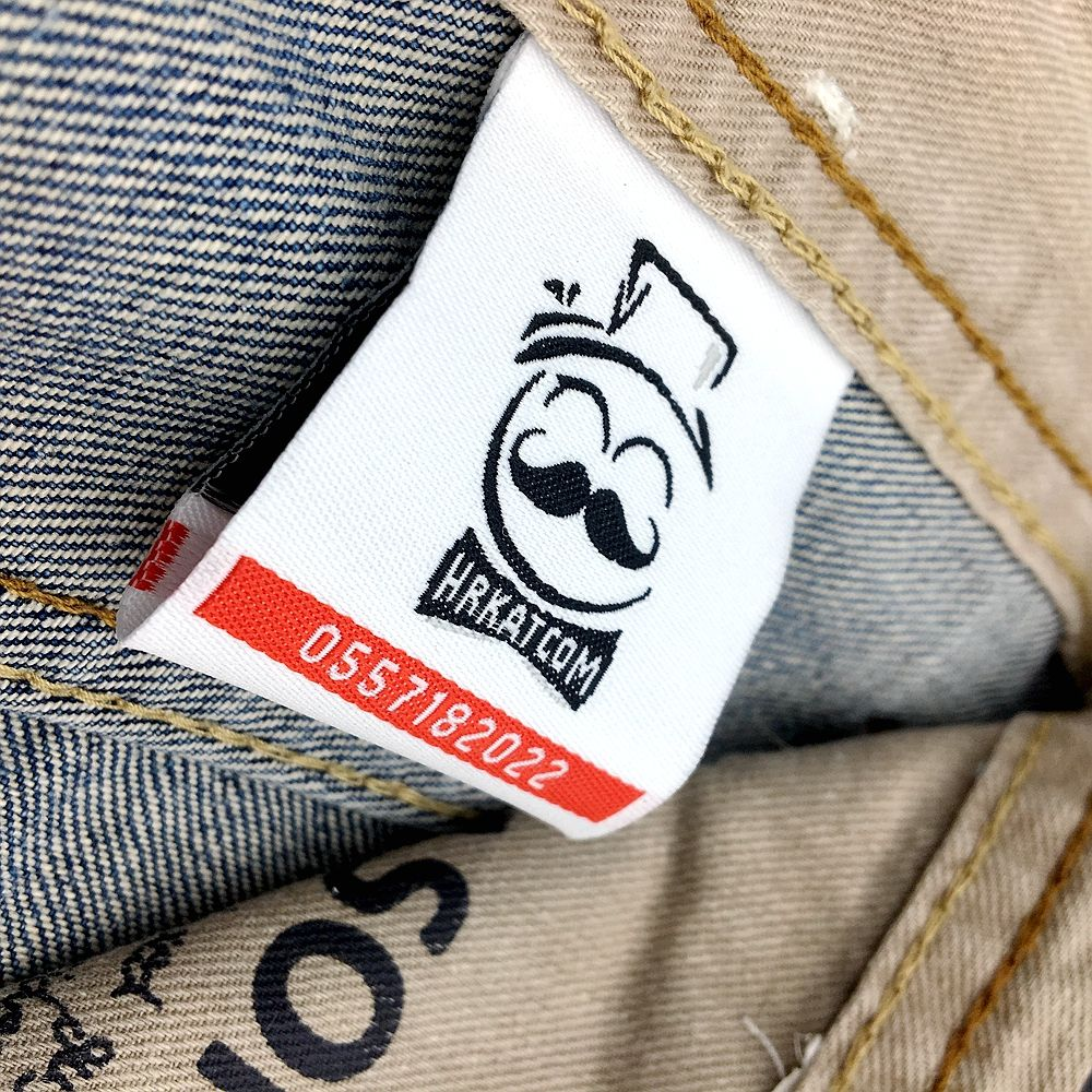 custom iron on neck label tags adhesive Iron-on t-shirt woven labels tags