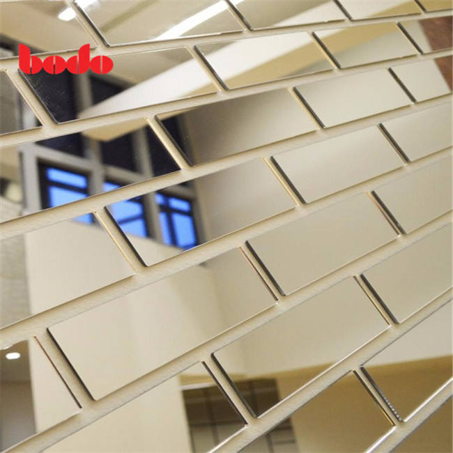 Rose gold acrylic mirror sheet 1.8mm 2mm 1mm 2.5mm 3mm