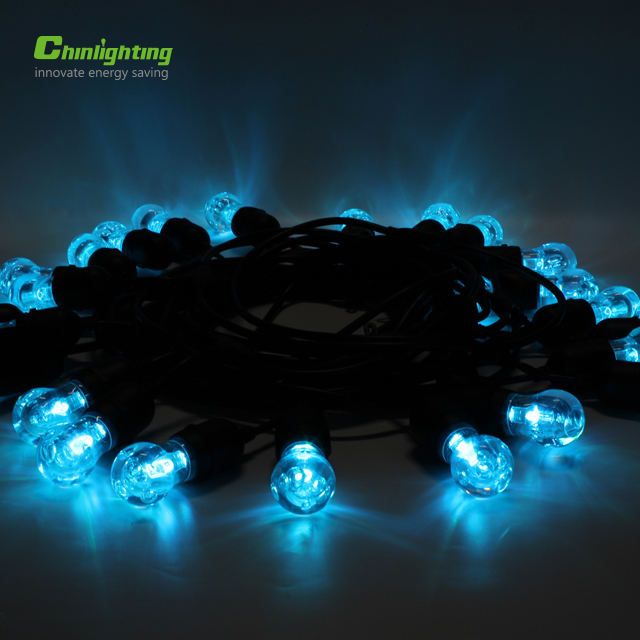 Chinlighting LED kerst s14 RGB string lights voor festival decoratie